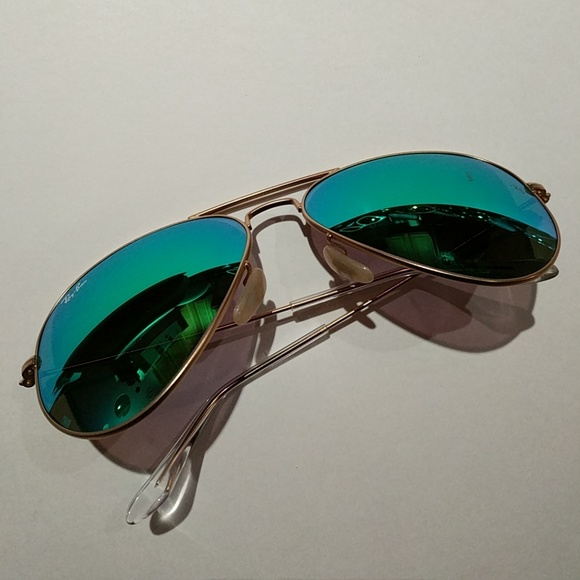 c427cd5cfcd ... discount code for blue green ray ban mirrored aviator sunglasses b326e  3e99b